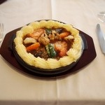 ガスビル食堂 - ガスビル食堂 名物料理 「ムーサカ」