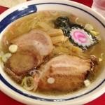 ラーメンつり吉 - しおラーメン大盛り(800円)