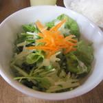 スパイスカフェ - ランチのサラダ☆