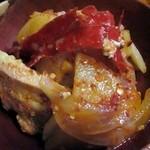 ガテモタブン - 豚肉と唐辛子の煮込み、バクシャパ