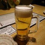 焼き鳥 きんざん - 生ビール