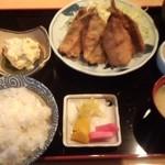 広瀬 - アジフライ定食