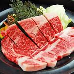 焼肉 しちふく - 上肉盛り合わせ 1880円