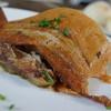ピピネオ - 料理写真:三枚肉とソーキのソテー