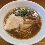 麺屋信玄 - 「和風追い煮干らーめん」770 円