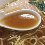 麺屋信玄 - スープ