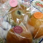 ココリカフェ - ミニパンセット 180円