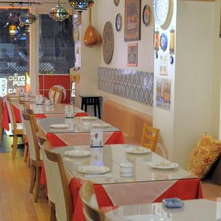 ご家族やご友人とのお食事に、トルコ料理はいかがでしょうか??