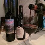 クッチーナピノッキオ - ボトルの楽しみとは違い、料理に合わせたグラスワインをご堪能いただけます。