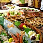 はたごや助六 - 料理写真:宴会メニュー《一例》