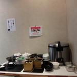 ラーメン炙り - サービス:これだけで、お腹いっぱい(^.^)