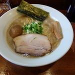 七麺鳥 - 味玉醤油ラーメン760円