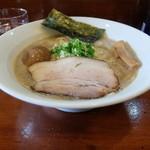 七麺鳥 - 味玉醤油ラーメン