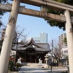 もっこす - すぐ南にある八宮神社、六宮神社が合祀されています
