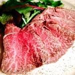 うみひこ やまひこ - 今一番旬な俳優も食べた 神戸ビーフのローストビーフ