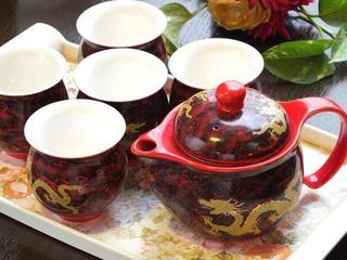 西安刀削麺酒楼 - お茶