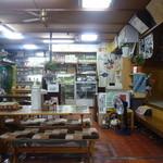 城山亭 - 落ち着いた店内の様子