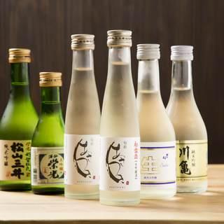 日本酒メニューも豊富にご用意