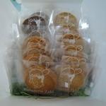 パティスリー ザキ - クッキー80円から 白ゴマ、バター、チョコ、