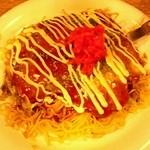 広島風お好み焼き 一番 - そば肉卵