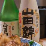 上川南店 - 9)熱燗と冷酒二本