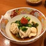 小判寿司 - 白子ポン酢