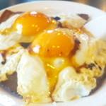 梁山泊 - 焼豚卵めし550円