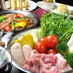 スペインバルエルソル - ヘルシーな大人気ワイン鍋