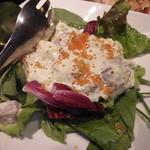 魚Den - マゴロアボガドサラダ。