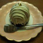 ふくろう - 料理写真:「豆乳モンブラン」480円