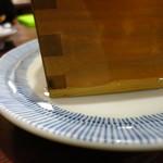 観音食堂 - (神奈川茅ヶ崎)天晴純米酒800円 たっぷり注がれる!