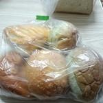 24463179 - 前日焼き上がりのパン詰め合わせセット、300円