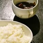 kyoutobouzuba- - 甲州ワインビーフを使ったシチューと京都産こしひかりご飯 1600円