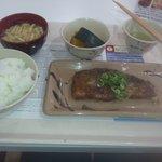 カフェテリア ルネ - 鯖の南蛮漬け・南瓜煮・お味噌汁・ライスMです^^