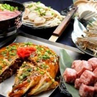 種類豊富な食べ飲み放題コースをご用意しております。