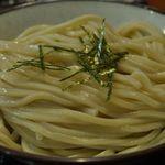 柏大勝軒 - 和風つけ麺の麺中盛