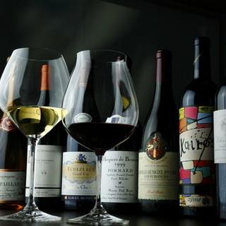 串揚げがさらに美味しくなるワインをセレクトしてもらおう
