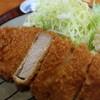 なおかつ - 料理写真:衣は薄くサクサク♪お肉はジューシー♪使う素材はこだわりの『鹿児島産黒豚』のみ♪はっきり言って旨みが違います♪自慢の一品です(^^)