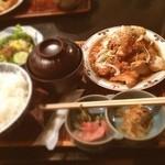 いけ田 - 油淋鶏いただきました。変わらず美味です。