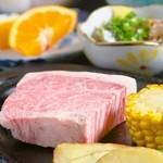 とっとんめ - 料理写真:『国産牛の網焼きステーキ』といった肉料理も楽しめます