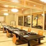 平等院表参道 竹林 - 座敷は椅子とテーブル式でもご利用いただけます