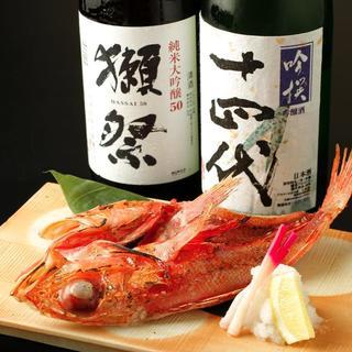 希少な日本酒を約20余種ご用意!人気の銘酒をご堪能下さい♪