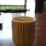鳥光 - 最後にお茶をいただきました