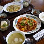 琳 - 酢豚定食 750円