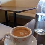 ピッツァパッツァ - セットのコーヒー。香りがいい