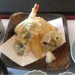 五十路 - 天ぷら膳の天ぷら