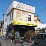 ピッツァパッツァ - お店の外観。例幣使街道から少し奥まった路地にあります