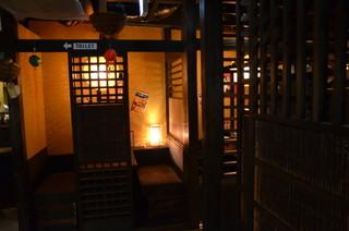 茶屋町炉端 楽兵衛 - 個室
