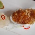 ジョーズ シャンハイ ニューヨーク  - 前菜盛り合わせ(中華クラゲ)