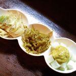 スパイス マジック - 野菜の3種盛り